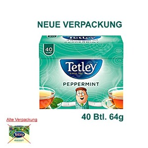 Tetley - Soothing and Refreshing Peppermint - 40 Bags - 64g