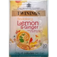 Twinings Lemon & Ginger Teabags - 4 x 20's