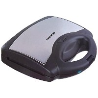 Daewoo DEAW-DSM9790 Sandwich Maker with Detachable Plates, Silver, 220-volt by Daewoo [並行輸入品]