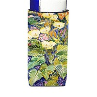 Caroline 's Treasures Arum Lilies by Neil Drury Michelob Ultra Koozies forスリム缶、マルチカラー