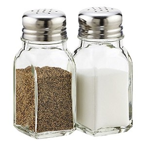 Salt and Pepperガラスシェーカーセット