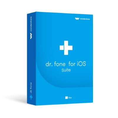 永久ライセンス【送料無料】Wondershare Dr.Fone for iOS Suite(Mac版)最新Mac10.14 iOS12、iPhone XS/XS Max/XRに対応 iPhone...