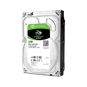 Seagate ST3000DM008 Barracudaシリーズ 3.5inch SATA 6Gb/s 3TB 7200rpm 64MB