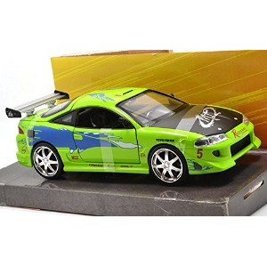 "JadaTOYS 1:24SCALE ""THE FAST AND THE FURIOUS"" ""Brian's MITSUBISHI ECLIPCE"" ジェイダトイズ 1:24スケール..."