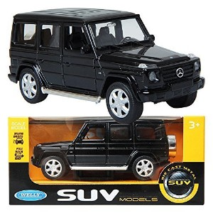 WELLY 1:32 Mercedes-Benz G-Class / Black / 子供/おもちゃ/ DIE-CAST おもちゃ [並行輸入品]