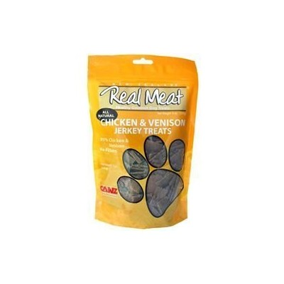 Real Meat Chicken & Venison Jerky Dog Treats - by The Real Meat Company