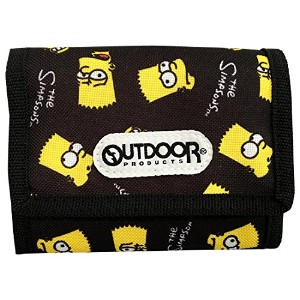 OUTDOOR PRODUCTS × The Simpsons ウォレット バート フェイス SSAP411