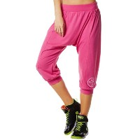 Zumba (ズンバ) Hang Loose Harem Capri Pant Pin a Rose [並行輸入品] (M)