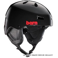 bern (バーン) ヘルメット WINTER MODEL TEAM MACON チーム メーコン 04-GLOSS BLACK HENRIK HARLAUT XXL(60.5-62.0)