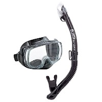 TUSA Sport Adult Imprex 3D Dry Mask and Snorkel Combo [並行輸入品]