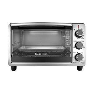 Black & Decker TO1950SBD 6-Slice Toaster Oven, Black [並行輸入品]