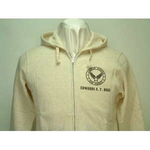 "Buzz Rickson's(バズリクソンズ)LIGHT WEIGHT HOODED ZIP PARKA""U.S.AIR FORCE EDWARDS A.F. BASE"""