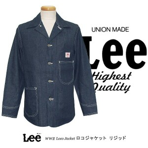 Lee RIDERS THE ARCHIVES VINTAGE MODEL COVERALL WW2 LOCO JACKET ロコジャケット 大戦モデル リジッドデニム 02442-89