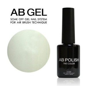 ジェルネイル セルフ カラージェル AB POLISH THE COLOR DAILY INNOCENT WHITE Da-01M