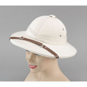 Bristol Novelty Safari Helmet Beige Hard Hats - Men's - One Size