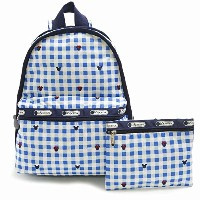 LeSportsac 7812-P930 BASIC BACKPACK ディズニー ベーシック リュックサック バッグ CHECKS AND BOWS/ [並行輸入品]