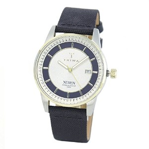 トリワ Duke Niben ユニセックス Analog Watch 2-Tone with Navy Blue Band NIST104 CL060712 [並行輸入品]