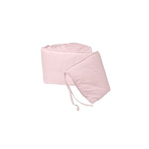 Tailored Baby Porta Crib Bumpers - Color Pink by Baby Doll