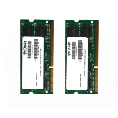 PATRIOT Apple用 DDR3 ノートPC用メモリ SO-DIMM デュアルキット DDR3-1333 PC3-10600 4GB x2 CL9 1.5V PSA38G1333SK