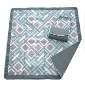 JJ Cole Outdoor Blanket,Gray, 5' x 5' by JJ Cole