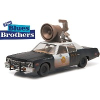 "GREENLIGHT HOLLYWOOD 1:43SCALE ""The Blues Brothers"" ""1974 DODGE MONACO BULUESMOBILE""MEGAPHONE..."