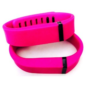 ! 2pcs Small S Purple / Pink Replacement Bands + 1pc Free Small Grey Band With Clasp for Fitbit...