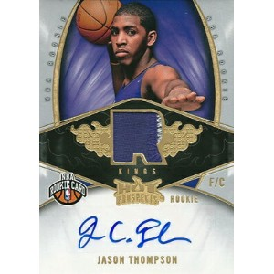 ジェイソン・トンプソン NBAカード Jason Thompson 08/09 Hot Prospects Rookie Patch Autographs 159/399
