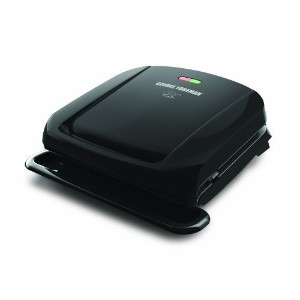 George Foreman GRP1060B 4 Serving Removable Plate Grill, Black [並行輸入品]