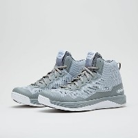 【SALE】AND1 ファントム2 MID Neutral Gray / Highrise-White