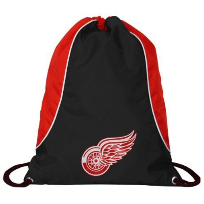 NHL チームロゴ バックサック レッドウィングス Detroit Red Wings Black-Red Axis Backsack
