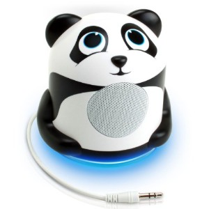 Iphone &MP3用 パンダスピーカー GOgroove Portable Laptop and MP3 Speaker System