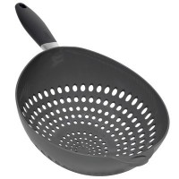 Colander with Gray Handle by World Kitchen