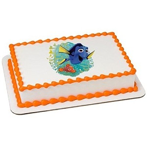 Whimsical Practicality Finding Dory Licensed Edible Cake Topper #42522 by Whimsical Practicality
