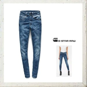 G-STAR RAW【 ジースターロウ 】3301 D-Mid Waist Super Skinny JeansスーパーストレッチTrender Ultimate Stretch Denimスキニーカ...