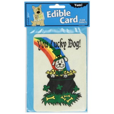 Crunchkins Edible Crunch Card, You Lucky Dog (St. Patrick's Day) by Crunchkins