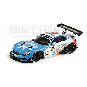 BMW | Z4 GT3 TEAM PIXUM SCHUBERT N 20 ADAC GT MASTERS 2013 MULLER - SANDRITTER | LIGHT BLUE WHITE ...