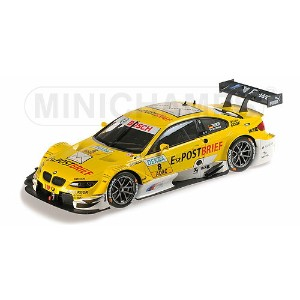 BMW 3シリーズ M3 TEAM SCHNITZER N 8 DTM SEASON 2012 D.WERNER | YELLOW /Minichampsミニチャンプス 1/18 ミニカー