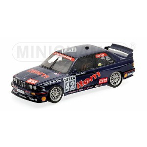 BMW | 3-SERIES M3 (E30) TEAM AUTO MAAS BMW N 42 SEASON DTM 1992 H.BECKER | BLUE RED /Minichampsミニチャン...