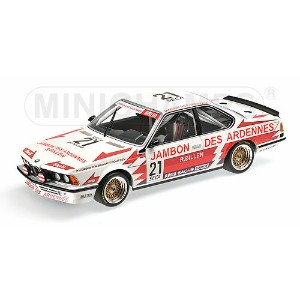 BMW | 6-SERIES 635CSi TEAM BRUN MOTORSPORT N 21 24h SPA 1985 GROHS - BRUN - BOUTSEN | WHITE RED ...