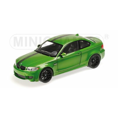 BMW 1-SERIES M COUPE 2-DOOR 2011 | JAVA GREEN /Minichampsミニチャンプス 1/18 ミニカー