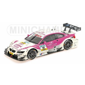 BMW M3 3シリーズ TEAM BMW RBM N 15 DTM SEASON 2012 ANDY PRIAULX | WHITE PINK /Minichampsミニチャンプス 1/18...