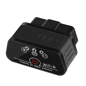 catuo OBD2スキャンツール wifi 自動車故障診断機 for Android IOS Windows PC