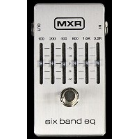 MXR M109S Six Band EQ Pedal [並行輸入品]