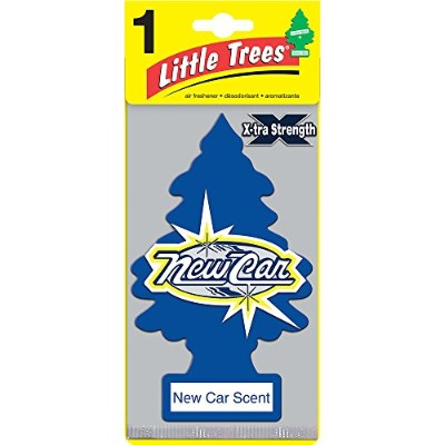 Little Trees X-TRA STRENGTH エアーフレッシュナー New Car Scent(1P) U1P-10689