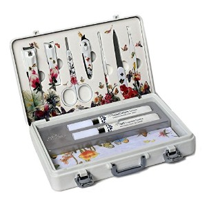 METAL BELL Manicure Sets BN-2000 爪の管理セット爪切りセット 高品質のネイルケアセット高級感のある東洋画のデザイン Nail Clippers Nail Care...