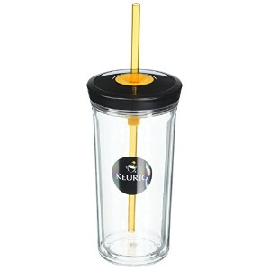 Keurig 16-oz Brew Over Ice Tumbler 1 ブラック 114360