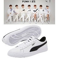 防弾少年団 BTS BANGTAN BOYS x PUMA プーマ Collaboration Court Star Shoes +  フォトカード Photo Card