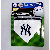 NEW YORK YANKEES ★ MLB OFFICIALLY LICENSED PET COLLAR BANDANA ★ ニューヨーク・ヤンキースのバンダナ