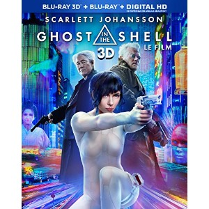 Ghost In the Shell [3D Blu-ray + Blu-ray + Digital HD] - Imported Ca.