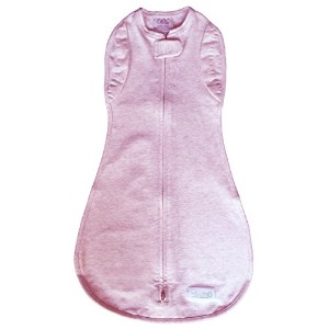 Woombie Convertible Swaddle Blanket, Vented, Pink, 0-3months by Woombie